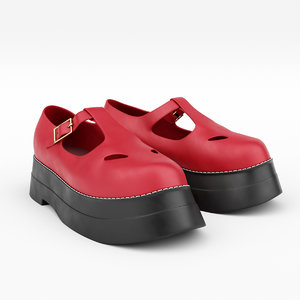 shoe bar 3D model