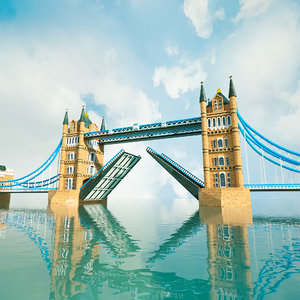 london bridge 3D model