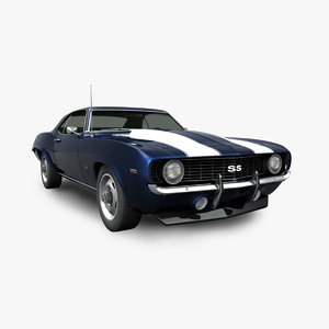 3D chevrolet camaro ss model