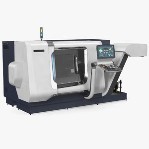 3D cnc lathe universal turning model