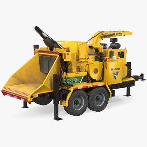 vermeer bc2100xl towed wood 3D