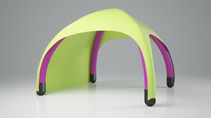 3D tent inflatable