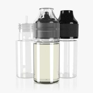 bottle 30ml type14 3D