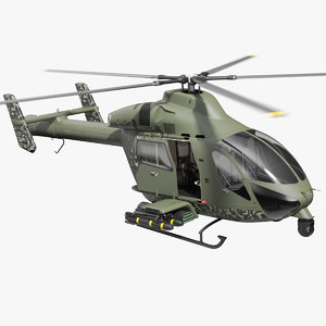 3D md 969 twin attack helicopter