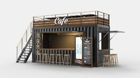 Container Cafe Design