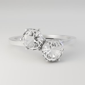 duo hex ring 3D model