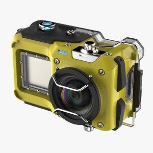 action camera 3D model