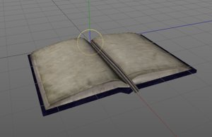 3D store book