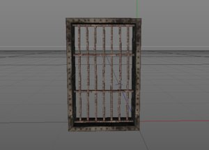 3D jail window