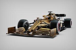 formula 1 generic car 3D