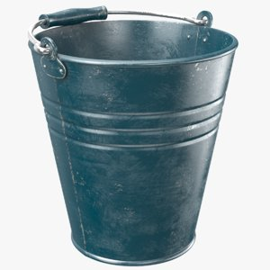 real bucket 3D model