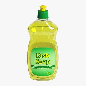 3D dish soap