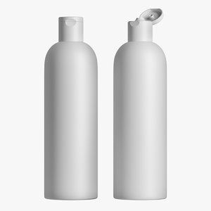 3D shampoo bottle 01