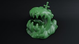 slime tabletop 3D model