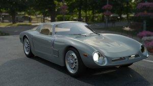 3D bizzarrini car