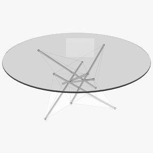 3D waddell table cassina