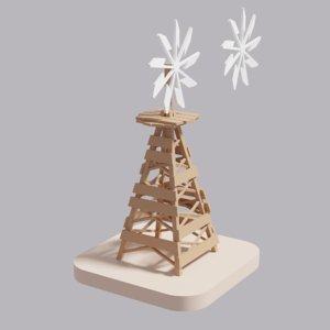 farm windmill model