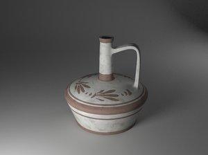 ancient jar vase 3D model