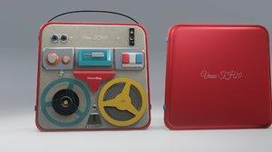 grabadora 3D