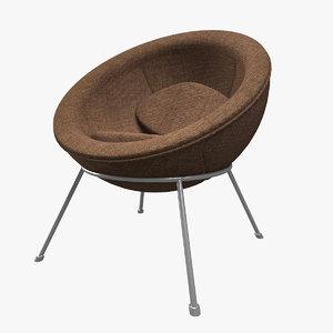 armchair chair modern model