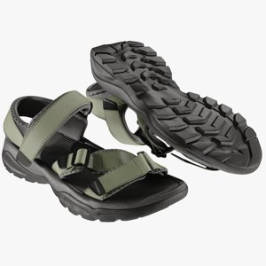 realistic men s sandals 3D model
