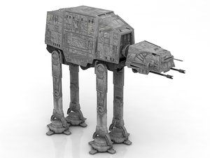 machine star wars imperial 3D model