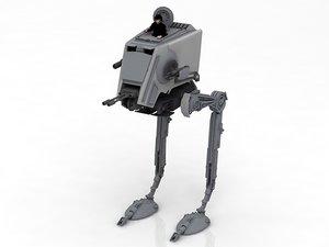 at-pt walker 3D model