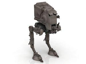 3D at-pt walker model