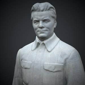 statue kirov 3D model
