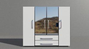 closet bedroom 3D