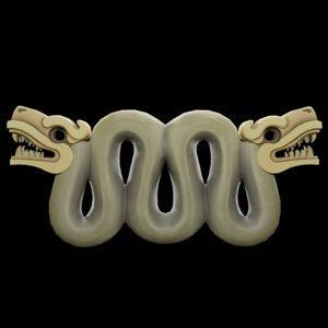 3D modeled aztec aspid