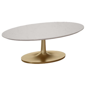 coffee table white marble 3D model