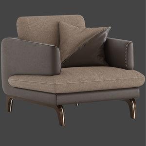 maxdivani espirit armchair 3D model