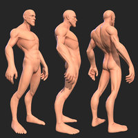 Character - Male Creature Body Base