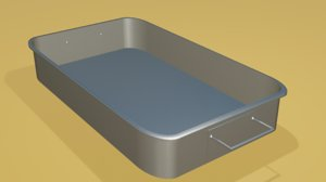 3D tray steel oven