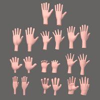 10 Hands Cartoon