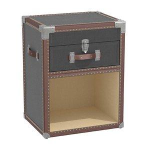 nightstand restoration hardware baby 3D model