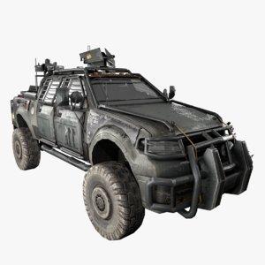 3D war pickup