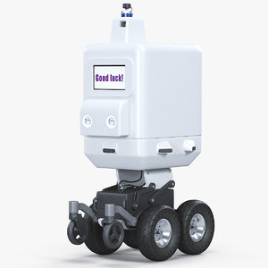 3D autonomous delivery bot