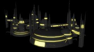sci fi sci-fi 3D model