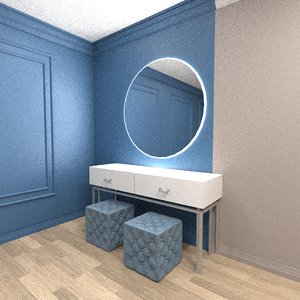 table dressing 3D