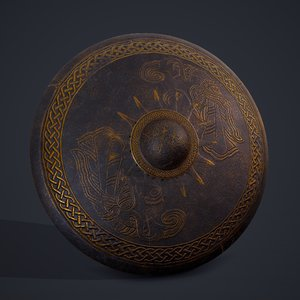 3D viking sun shield