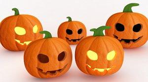 halloween lights 3D model