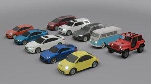 10 cars skoda wrangler model