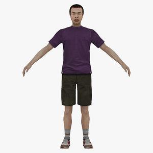 man people 3D model