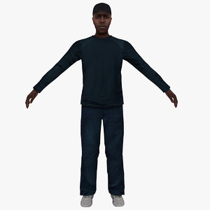3D man people