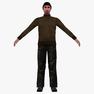 man people 3D