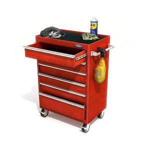tool cabinet 3D model