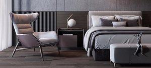 bed room 3D