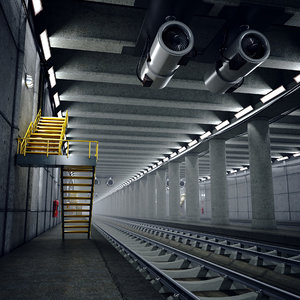 tunnel section 3D